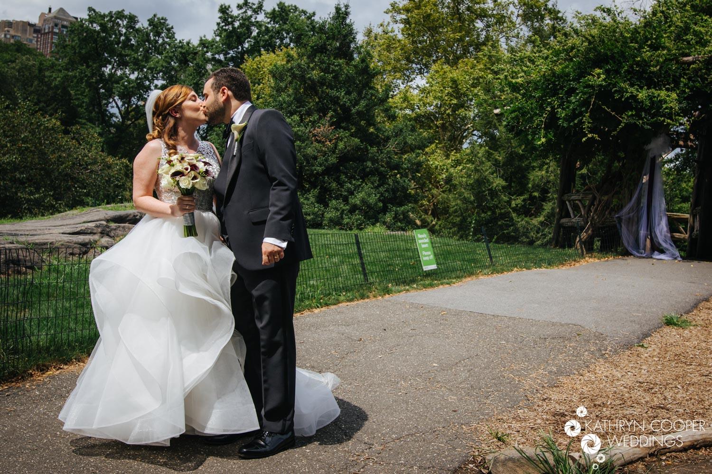 Central Park elopement photographer Kathryn Cooper Weddings