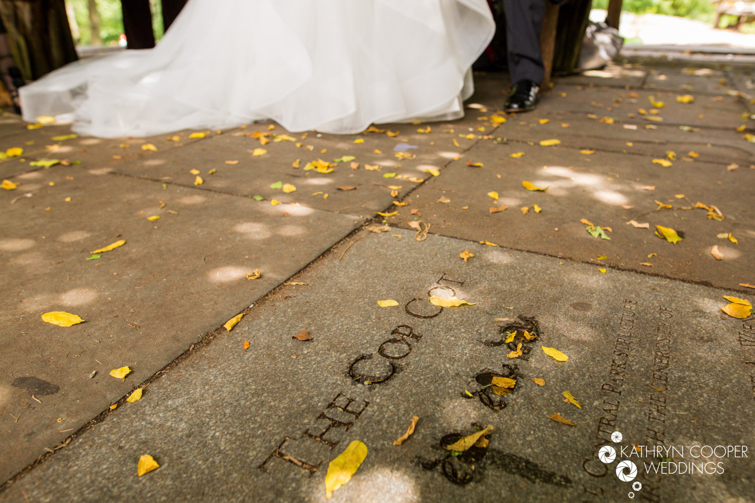 The Cop Cot wedding ceremony space in Central Park - Kathryn Cooper Weddings