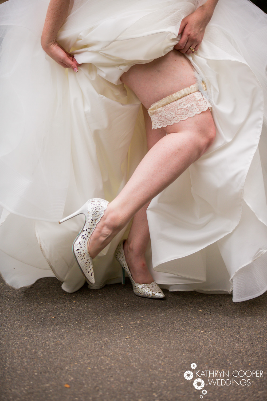 Garter belt and Betsey Johnson shoes USA