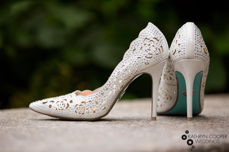 Fashion designer wedding shoes Betsey Johnson