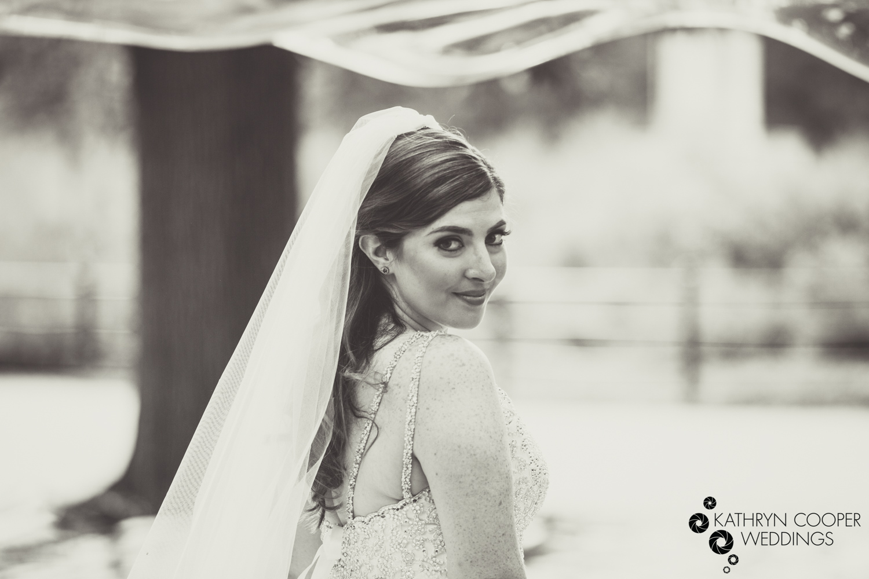 B&W bridal portrait Pnina Tornai bride NYC