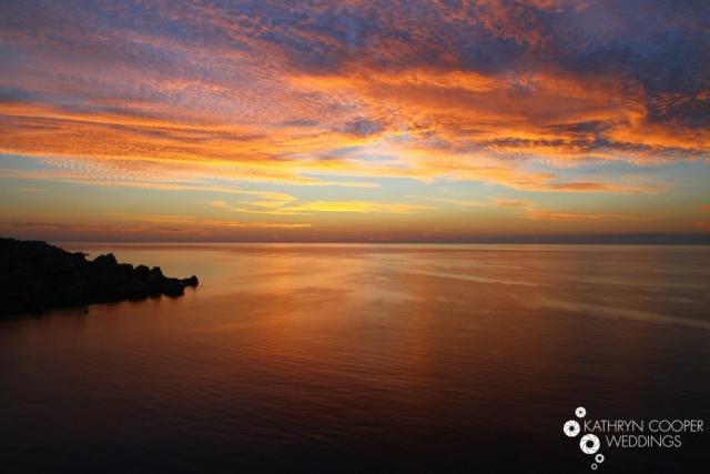 Maltese sunset photos Gozo and Malta at the beach