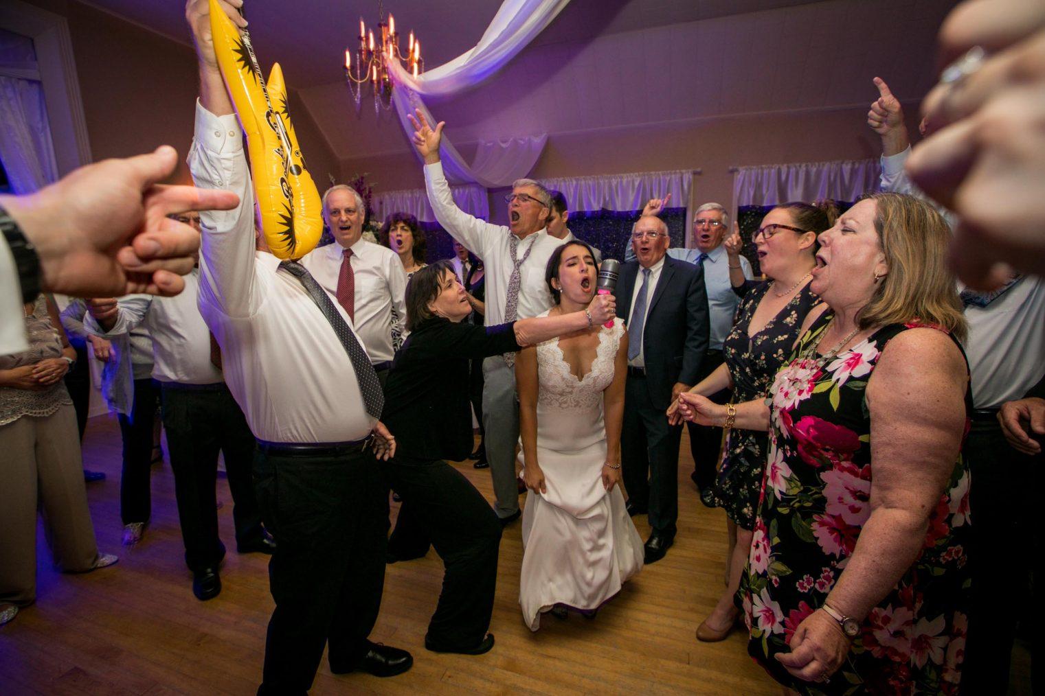 Crazy wedding party photos Kathryn Cooper Weddings
