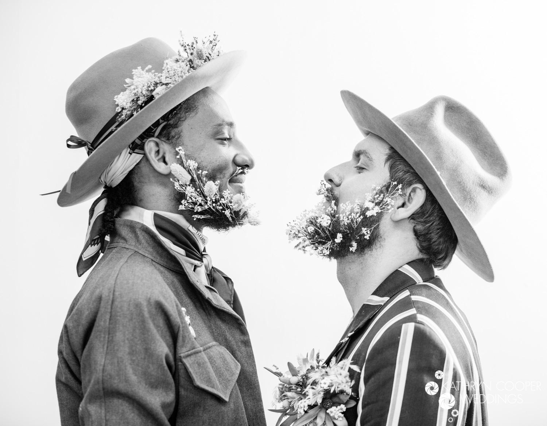 Kathryn Cooper Weddings gay groom portraits